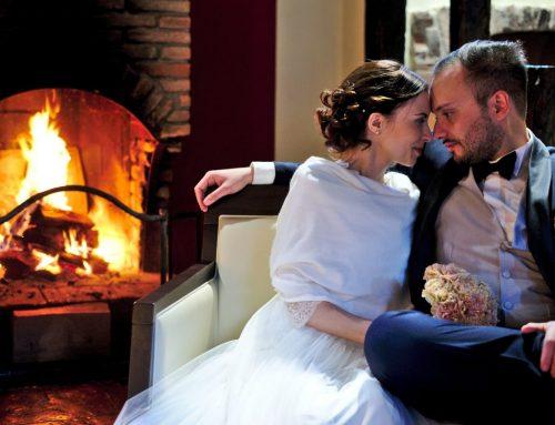 Intimo matrimonio invernale